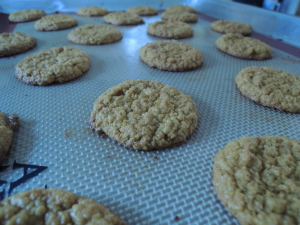 Kabocha and Cashew Butter Cinnamon Cookies